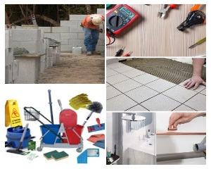 Travaux/Réparation (plombier, électricien, carreleur, maçonnerie)