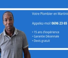 Cédric Tinaugus Plombier Martinique