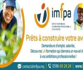IMFPA – Institut martiniquais de formation professionnelle