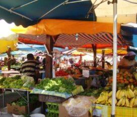 Marché aux légumes Fort de France